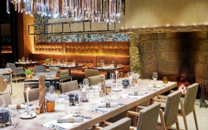 El restaurante está en el Six Senses Douro Valley.