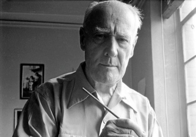 Andreas Feininger: 'Lyonel Feininger', Nueva York, 1951. The...