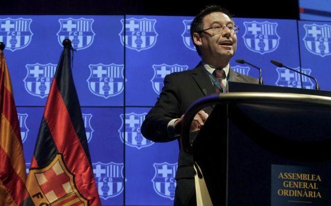 El presidente del FC Barcelona Josep María Bartomeu.