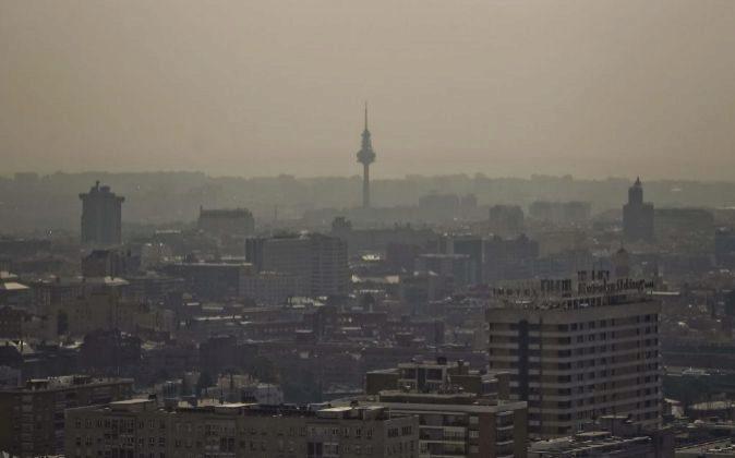 Vista de Madrid tomada desde las Torres KIO.