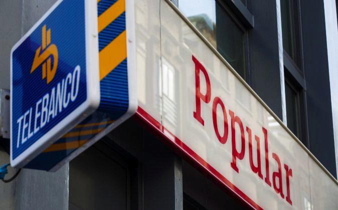 Oficina de Banco Popular.