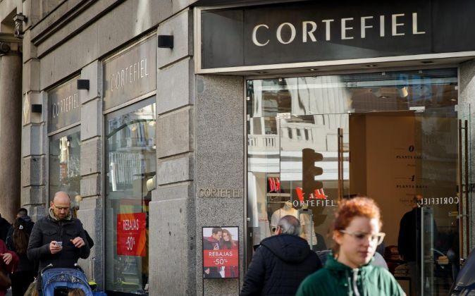 Tienda de Cortefiel.
