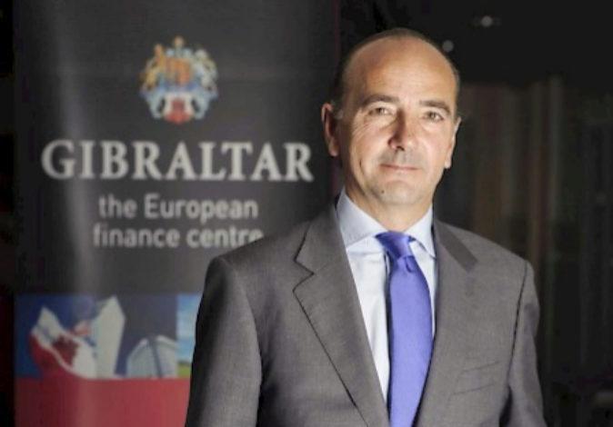 El director del Centro Financiero del Gobierno de Gibraltar, James...