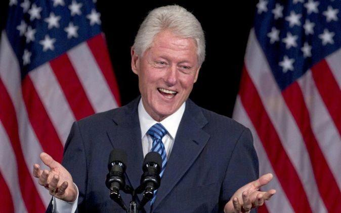 El expresidente de EEUU, Bill Clinton.
