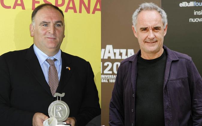 José Andrés y Ferran Adrià.