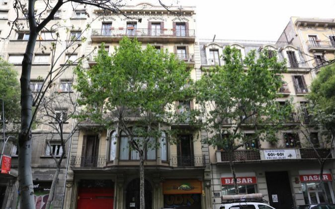 Edificio adquirido por la Socimi gestionada por BMB en Barcelona.