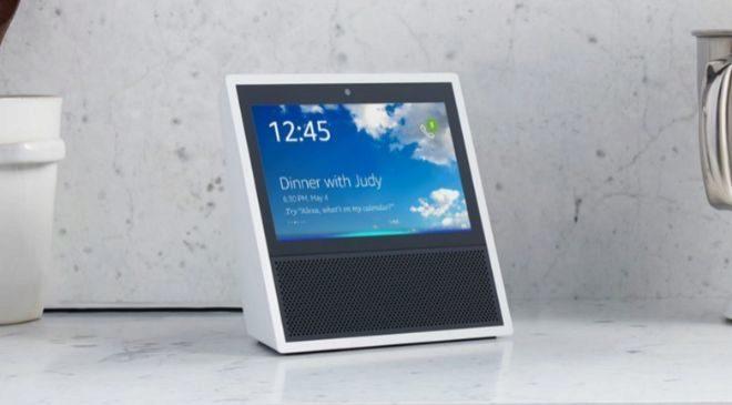 Amazon Echo Show, el altavoz inteligente de Amazon con pantalla.