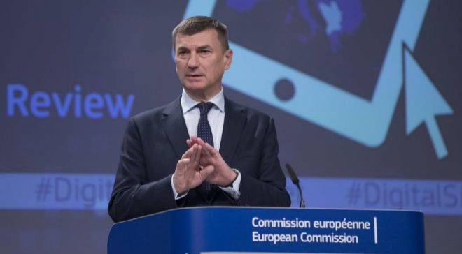 El vicepresidente de la Comisión Europea responsable del Mercado...