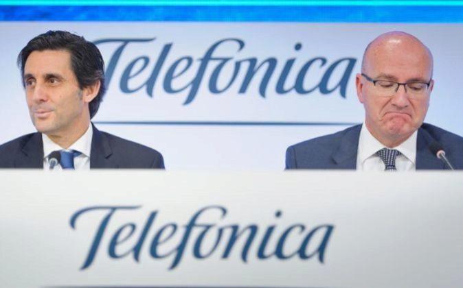 Presentación de los resultados de Telefónica del conjunto de 2016,...