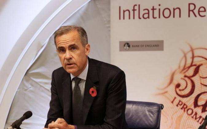 Mark Carney es el Gobernador del Banco de Inglaterra.