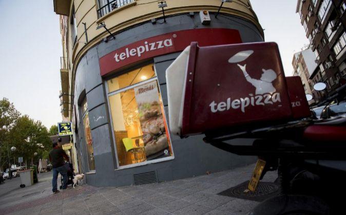 Tienda de Telepizza.