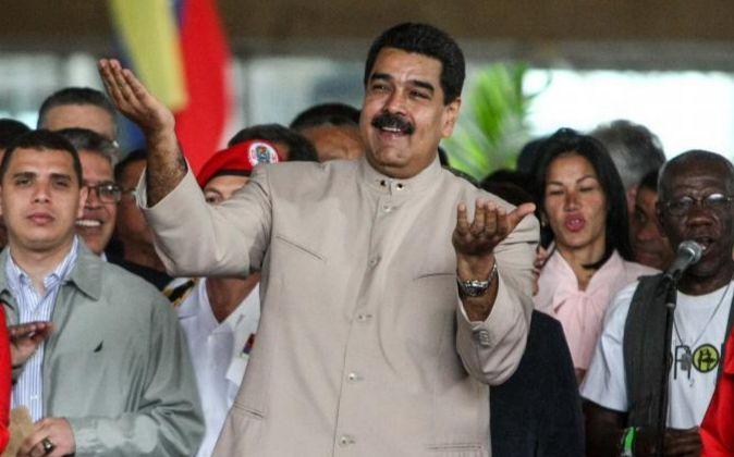 El presidente de la República de Venezuela, Nicolás Maduro.