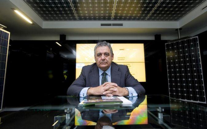 Enrique Díaz, presidente de Solaria