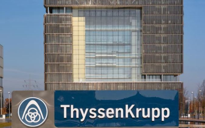Sede de ThyssenKrupp en Essen, Alemania.