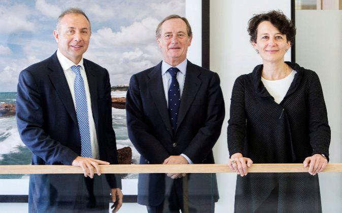 Guy Nohra, cofundador de Alta Partners; Claudio Aguirre, presidente y...