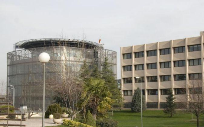 Instalaciones del CNI (Centro Nacional de Inteligencia), donde se...