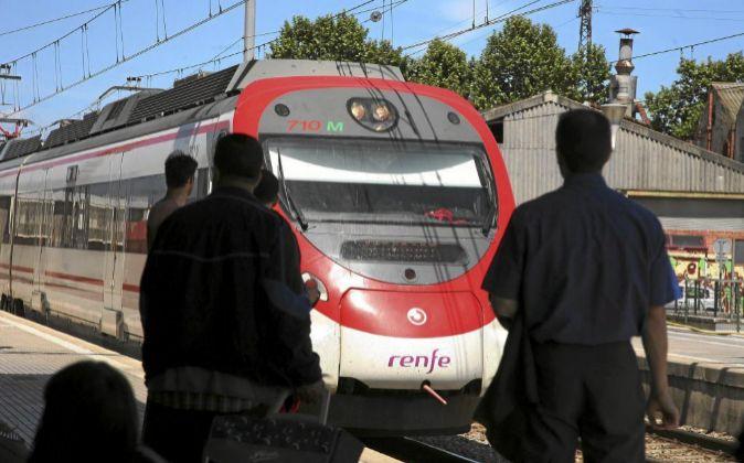 Tren Renfe Cercanías.