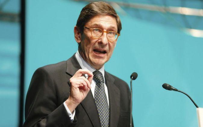 El presidente de Bankia José Ignacio Goirigolzarri.