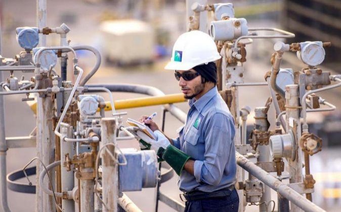 Refinería de la petrolera saudí Aramco.