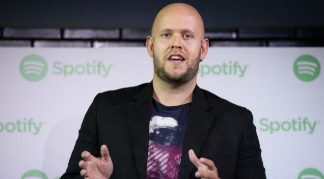 Daniel Ek, consejero delegado de la plataforma de música Spotify.