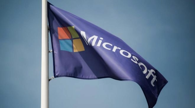 Bandera de Microsoft.