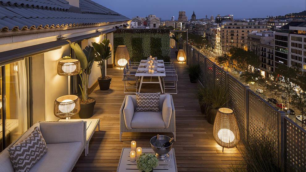 El Hotel Majestic Ofrece La Suite Más Amplia De Barcelona