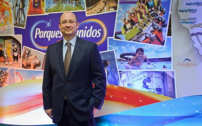 Fernando Eiroa, Consejero Delegado de Parques Reunidos