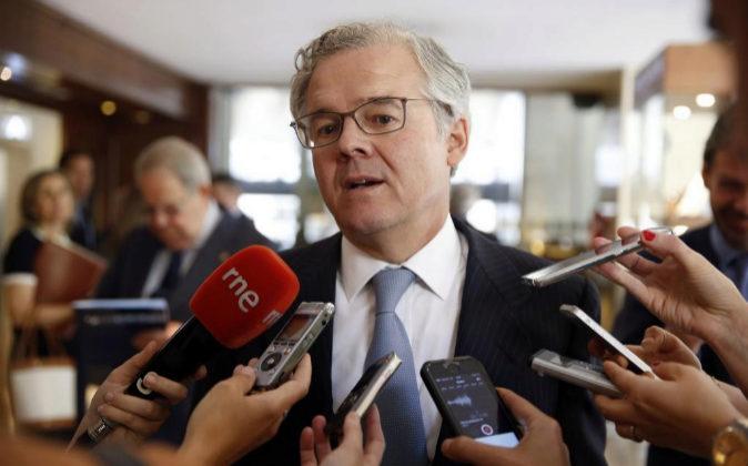 El presidente de la Comisión Nacional del Mercado de Valores (CNMV),...