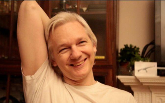 Foto publicada por Julian Assange en su Twitter.