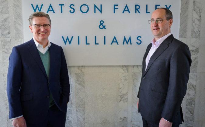 Lothar Wegener y Chris Lowe, socios directores de Watson Farley &...