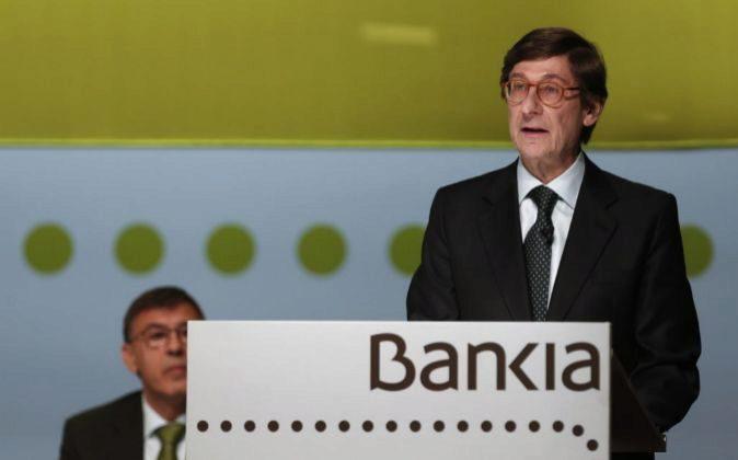 El presidente de Bankia Jose Ignacio Goirigolzarri.