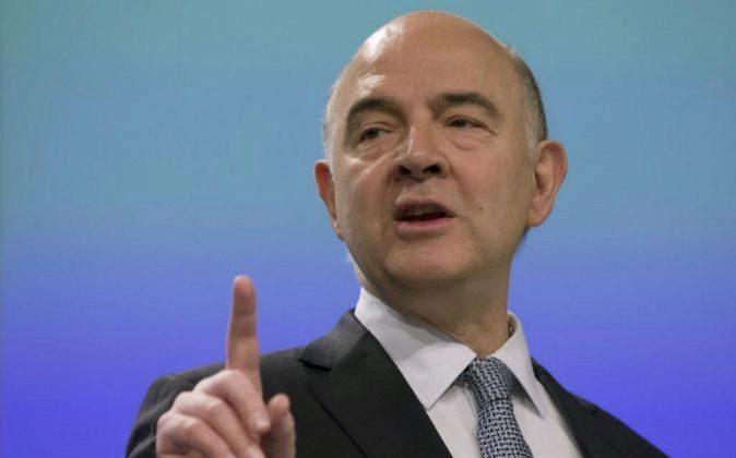 El comisario europeo de Asuntos Económicos de la Comisión Europea...