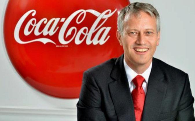 James Quincey, nuevo consejero delegado de Coca-Cola.