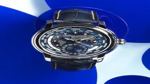 <p>Classic Worldtimer Manufacture. El azul da mayor realismo al...