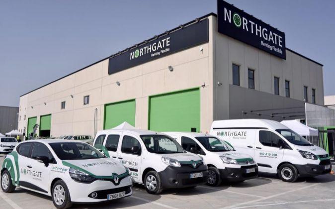 Instalaciones en Málaga de la multinacional británica Northgate.