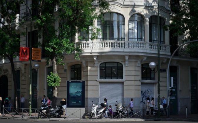 Local que ocupará Fnac Goya, que abrirá sus puertas en julio.