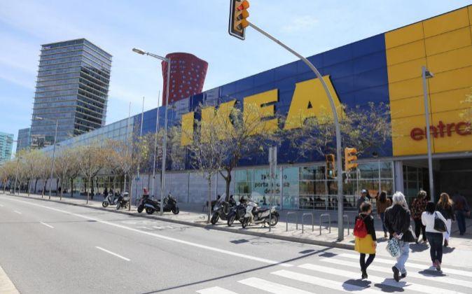 Tienda IKEA en Barcelona.