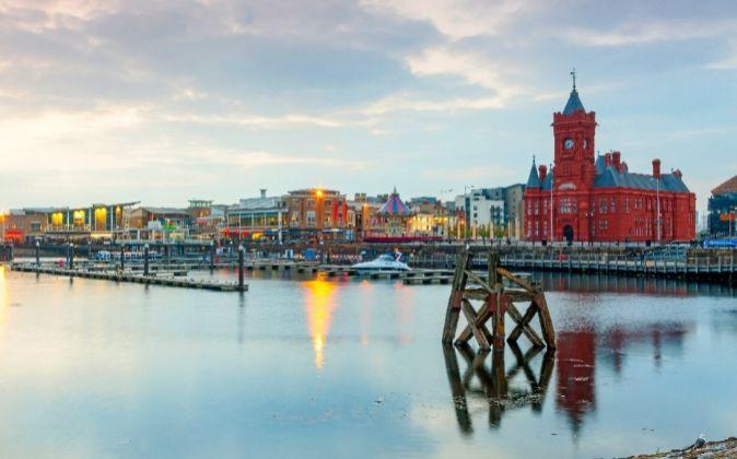 Bahía de Cardiff.