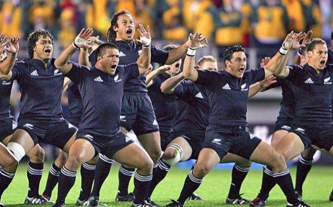 Selección de rugby de Nueva Zelanda.
