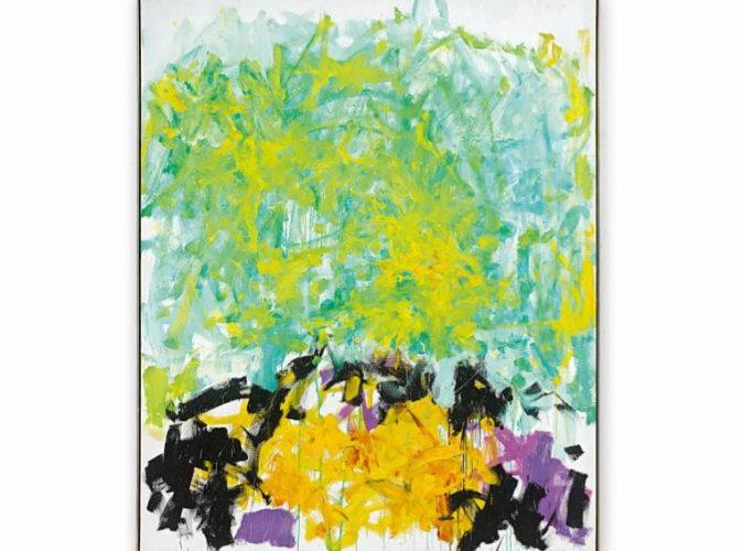 Obra de Joan Mitchell vendida a través de la web de Sotheby's la...