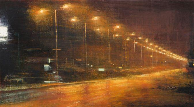 La obra de Alejandro Quincoces, 'Perspectiva de una calle con...