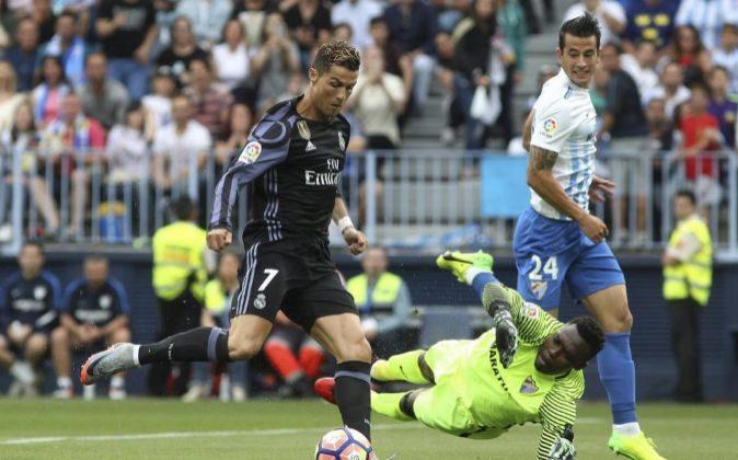 El delantero portugués del Madrid, Cristiano Ronaldo.