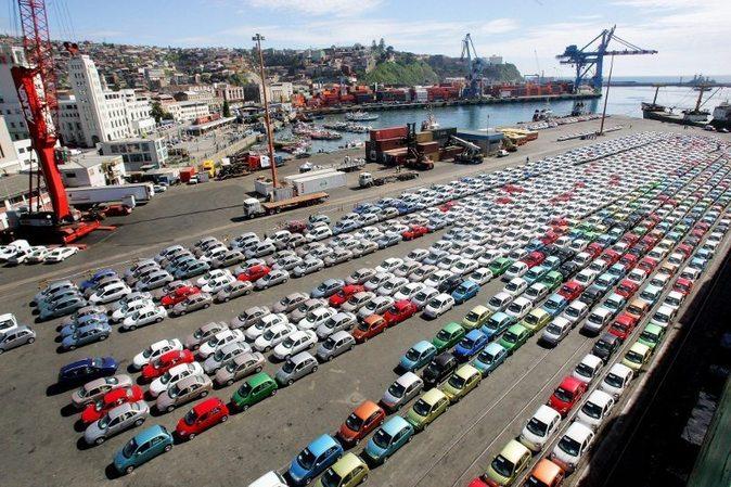 Contingente de coches para la exportación
