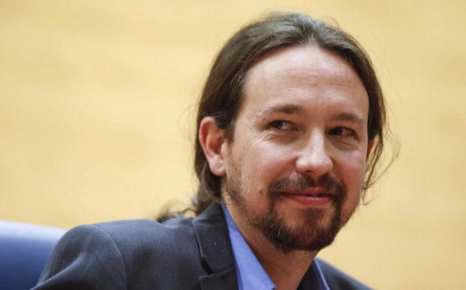 El secretario general de Podemos, Pablo Iglesias, el pasado 19 de mayo...