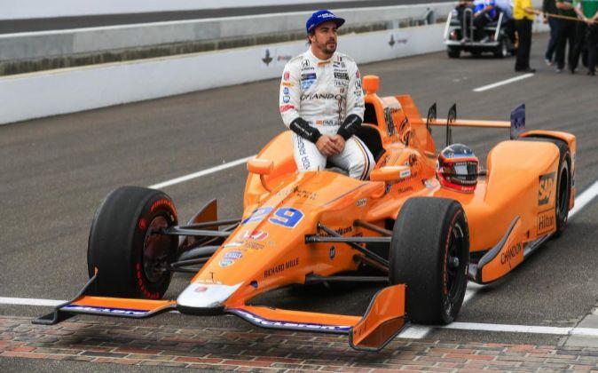 Alonso correrá este domingo conel equipo McLaren Honda Andretti,...