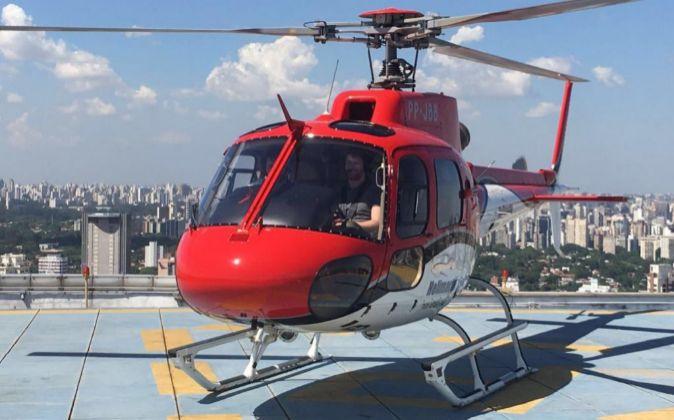 Helicóptero de Airbus.