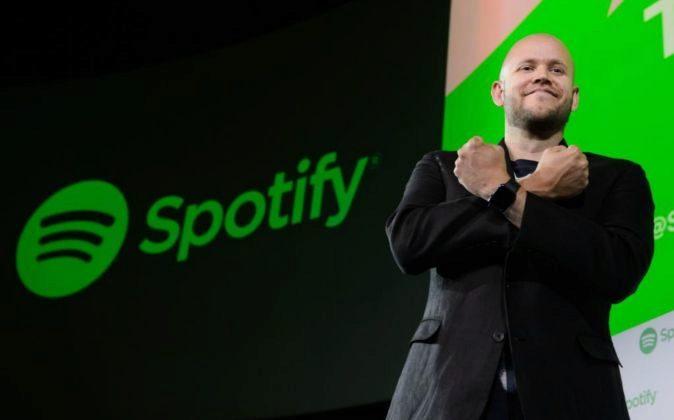 Daniel Ek, CEO y cofundador de Spotify.
