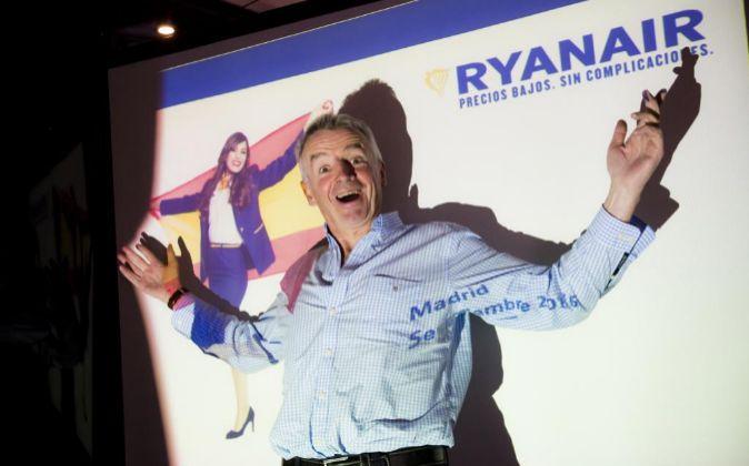 Michael O?Leary, de ceo de Ryanair