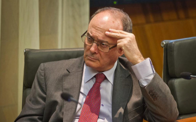Luis María Linde, Gobernador del Banco de España, en la Conferencia...