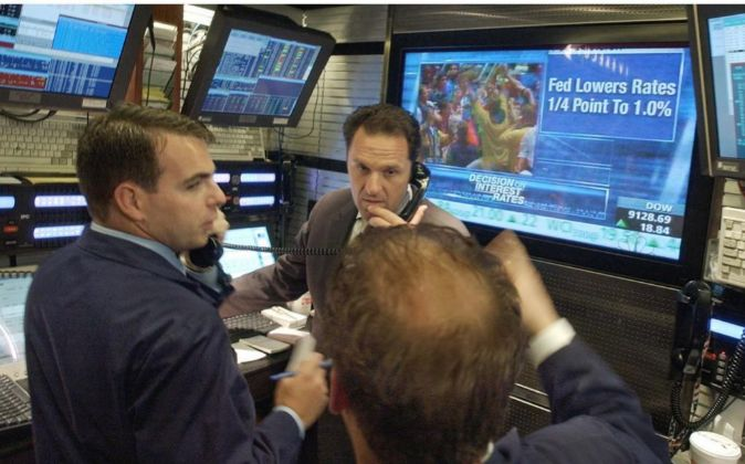 Operadores de Bolsa.